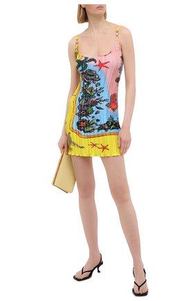 Женское платье VERSACE разноцветного цвета, арт. A89018/1F01267 | Фото 2