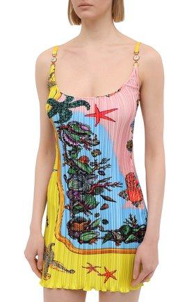 Женское платье VERSACE разноцветного цвета, арт. A89018/1F01267 | Фото 3
