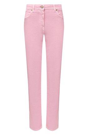 Женские джинсы VERSACE светло-розового цвета, арт. A86623/1F00813 | Фото 1