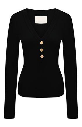 Женский пуловер CITIZENS OF HUMANITY черного цвета, арт. 9202-3004 | Фото 1