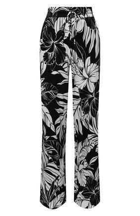 Женские брюки из вискозы TOM FORD черно-белого цвета, арт. PAJ074-FAP115 | Фото 1