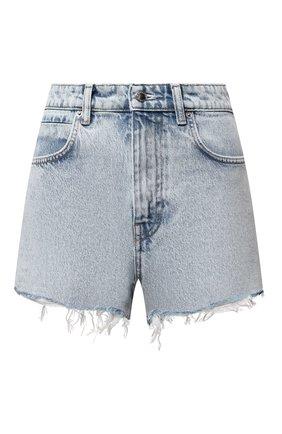 Женские джинсовые шорты DENIM X ALEXANDER WANG голубого цвета, арт. 4DC2214342 | Фото 1