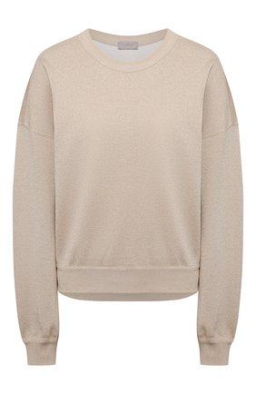 Женский пуловер из вискозы MRZ бежевого цвета, арт. S21-0057 | Фото 1