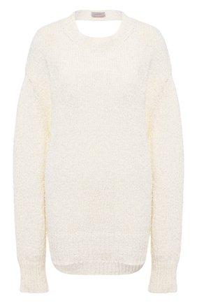 Женский хлопковый свитер MRZ светло-бежевого цвета, арт. S21-0115 | Фото 1