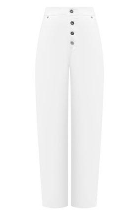 Женские хлопковые брюки MRZ белого цвета, арт. S21-0355 | Фото 1