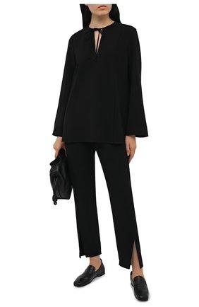 Женские брюки THEORY черного цвета, арт. L0109206 | Фото 2