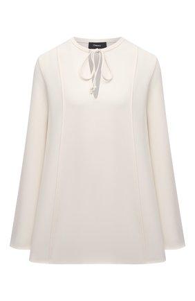 Женская блузка THEORY светло-бежевого цвета, арт. L0109509 | Фото 1