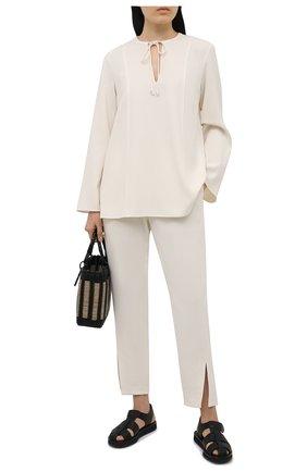 Женская блузка THEORY светло-бежевого цвета, арт. L0109509 | Фото 2