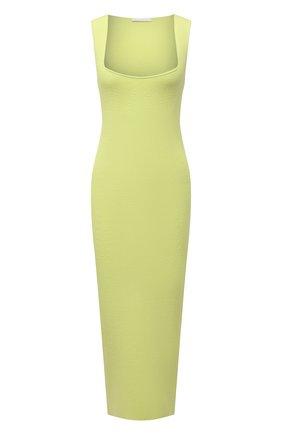 Женское платье из вискозы HELMUT LANG зеленого цвета, арт. L02HW708 | Фото 1