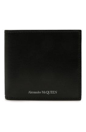 Мужской кожаное портмоне ALEXANDER MCQUEEN черного цвета, арт. 602137/1XI0Y | Фото 1