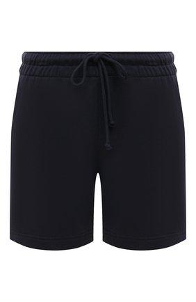 Женские хлопковые шорты VINCE темно-серого цвета, арт. V734383488 | Фото 1