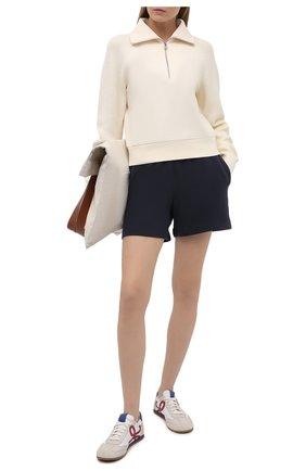 Женские хлопковые шорты VINCE темно-серого цвета, арт. V734383488 | Фото 2