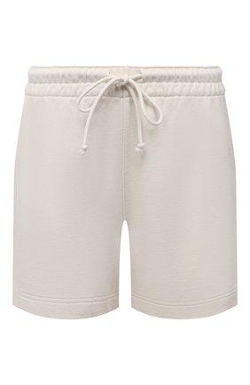 Женские хлопковые шорты VINCE бежевого цвета, арт. V734383488 | Фото 1