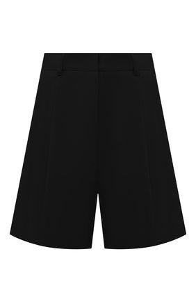 Женские хлопковые шорты DRIES VAN NOTEN черного цвета, арт. 211-10927-2109 | Фото 1