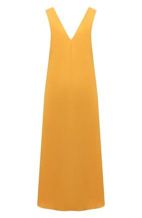 Женское хлопковое платье DRIES VAN NOTEN желтого цвета, арт. 211-11044-2331 | Фото 1