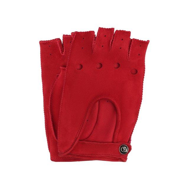 Замшевые перчатки Giorgio Armani