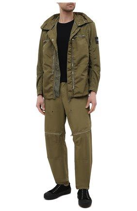 Мужская куртка STONE ISLAND SHADOW PROJECT хаки цвета, арт. 741941002   Фото 2