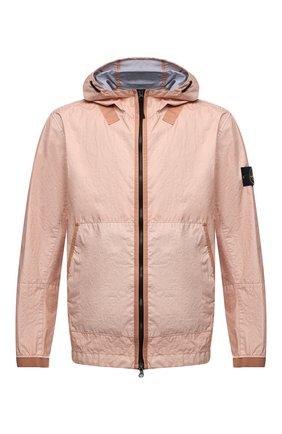 Мужская куртка STONE ISLAND светло-розового цвета, арт. 741540523 | Фото 1
