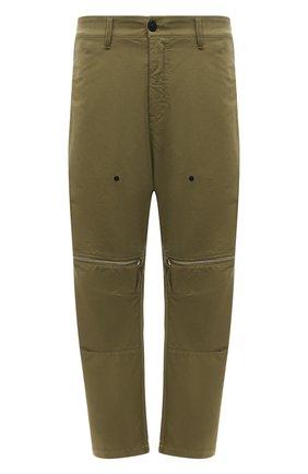 Мужские брюки STONE ISLAND SHADOW PROJECT хаки цвета, арт. 741930308   Фото 1