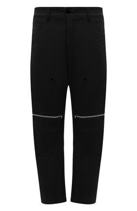 Мужские брюки STONE ISLAND SHADOW PROJECT черного цвета, арт. 741930308   Фото 1