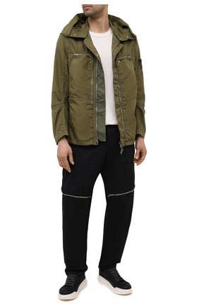 Мужские брюки STONE ISLAND SHADOW PROJECT черного цвета, арт. 741930308   Фото 2