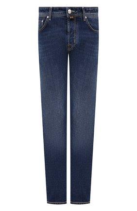 Мужские джинсы JACOB COHEN синего цвета, арт. J688 C0MF 01190-W2/55   Фото 1