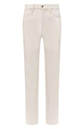 Женские джинсы JIL SANDER светло-бежевого цвета, арт. JPPS663101-WS246500 | Фото 1