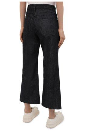 Женские джинсы JIL SANDER темно-синего цвета, арт. JPPS663135-WS246700 | Фото 4