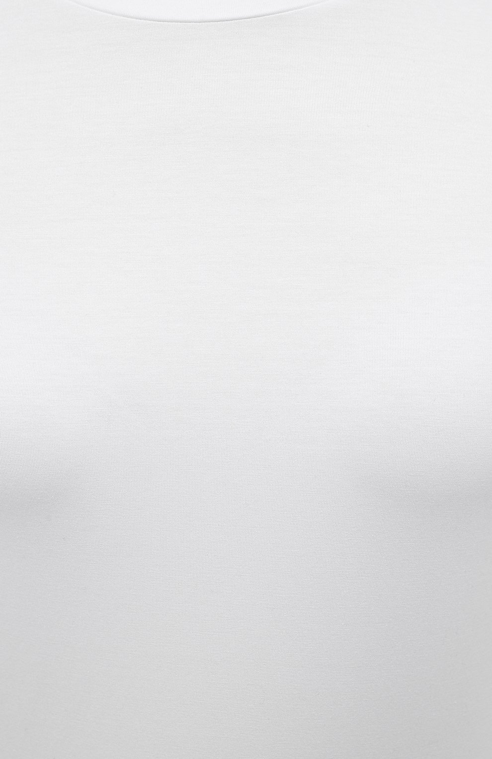 Женская хлопковая футболка JIL SANDER белого цвета, арт. JPPS705502-WS257108 | Фото 5