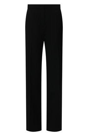 Женские шерстяные брюки JIL SANDER черного цвета, арт. JSWS307410-WS211600 | Фото 1