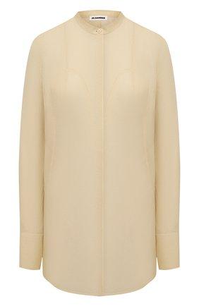 Женская рубашка JIL SANDER бежевого цвета, арт. JSWS606806-WS551000 | Фото 1