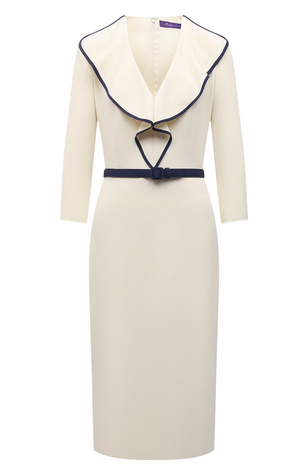 Женское платье RALPH LAUREN светло-бежевого цвета, арт. 290850480 | Фото 1