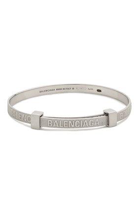 Женский браслет force BALENCIAGA серебряного цвета, арт. 644508/J8400 | Фото 1