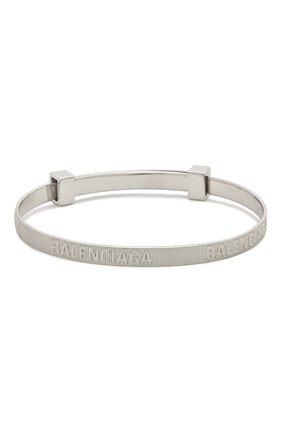 Женский браслет force BALENCIAGA серебряного цвета, арт. 644508/J8400 | Фото 2