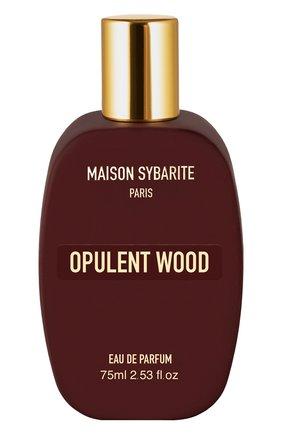 Парфюмерная вода opulent wood MAISON SYBARITE бесцветного цвета, арт. 3665720000036 | Фото 1