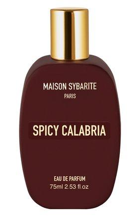 Парфюмерная вода spicy calabria MAISON SYBARITE бесцветного цвета, арт. 3665720000005 | Фото 1