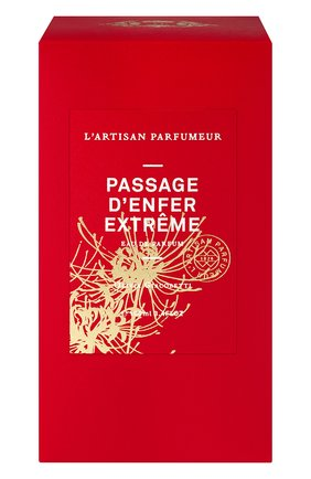 Парфюмерная вода passage d'enfer extreme L'ARTISAN PARFUMEUR бесцветного цвета, арт. 3660463008738 | Фото 2