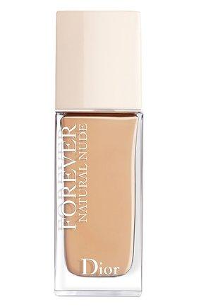 Тональное средство для лица forever natural nude, 3cr холодный розовый DIOR бесцветного цвета, арт. C018000032 | Фото 1