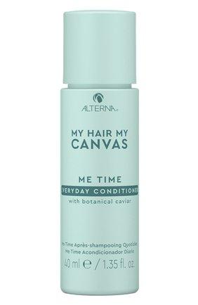 Кондиционер для ежедневного ухода my hair my canvas ALTERNA бесцветного цвета, арт. 873509030027 | Фото 1