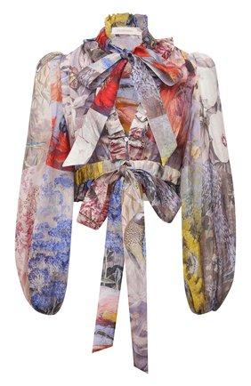Льняная блузка | Фото №1