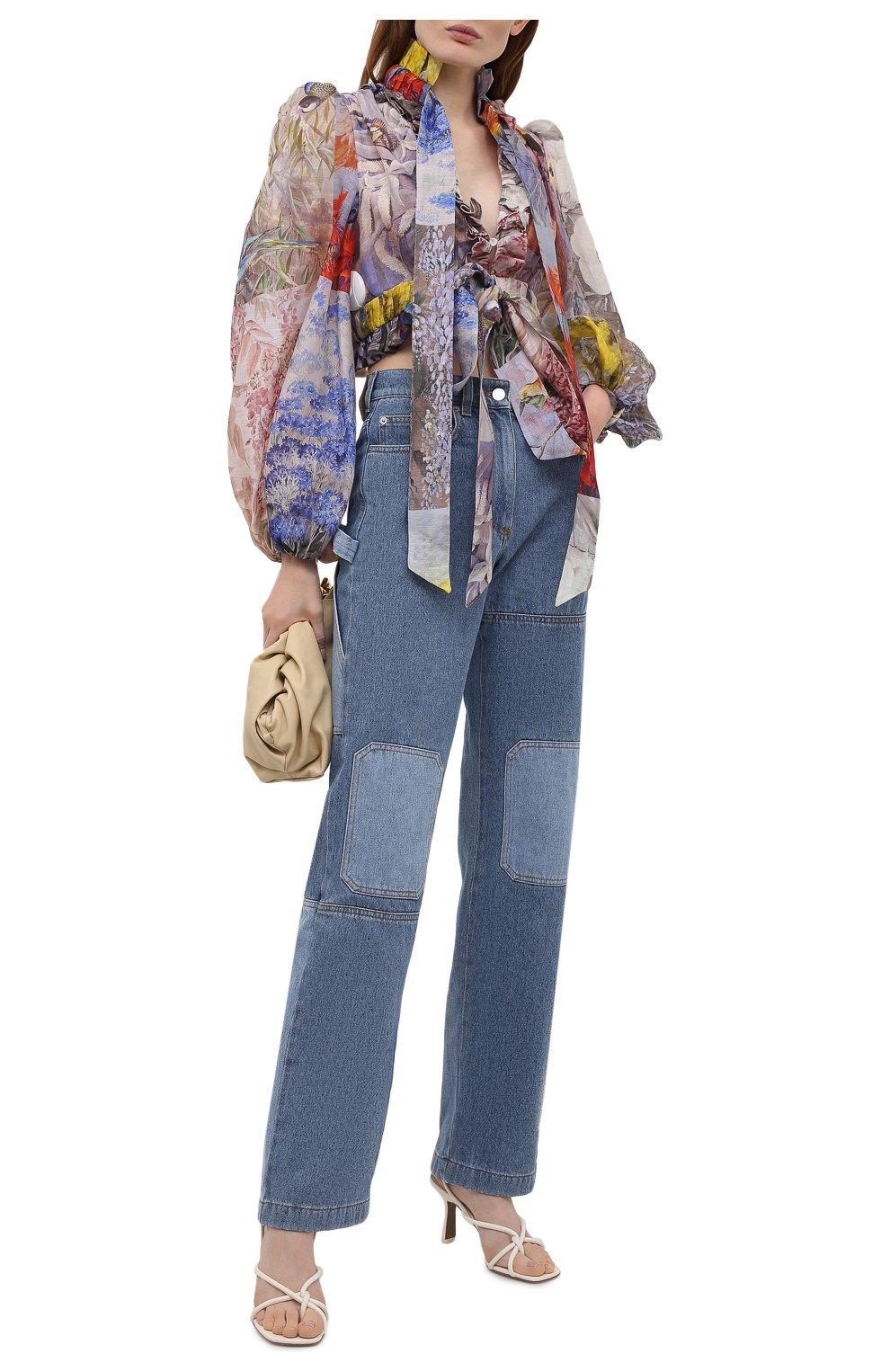 Женская льняная блузка ZIMMERMANN разноцветного цвета, арт. 1363TB0T | Фото 2