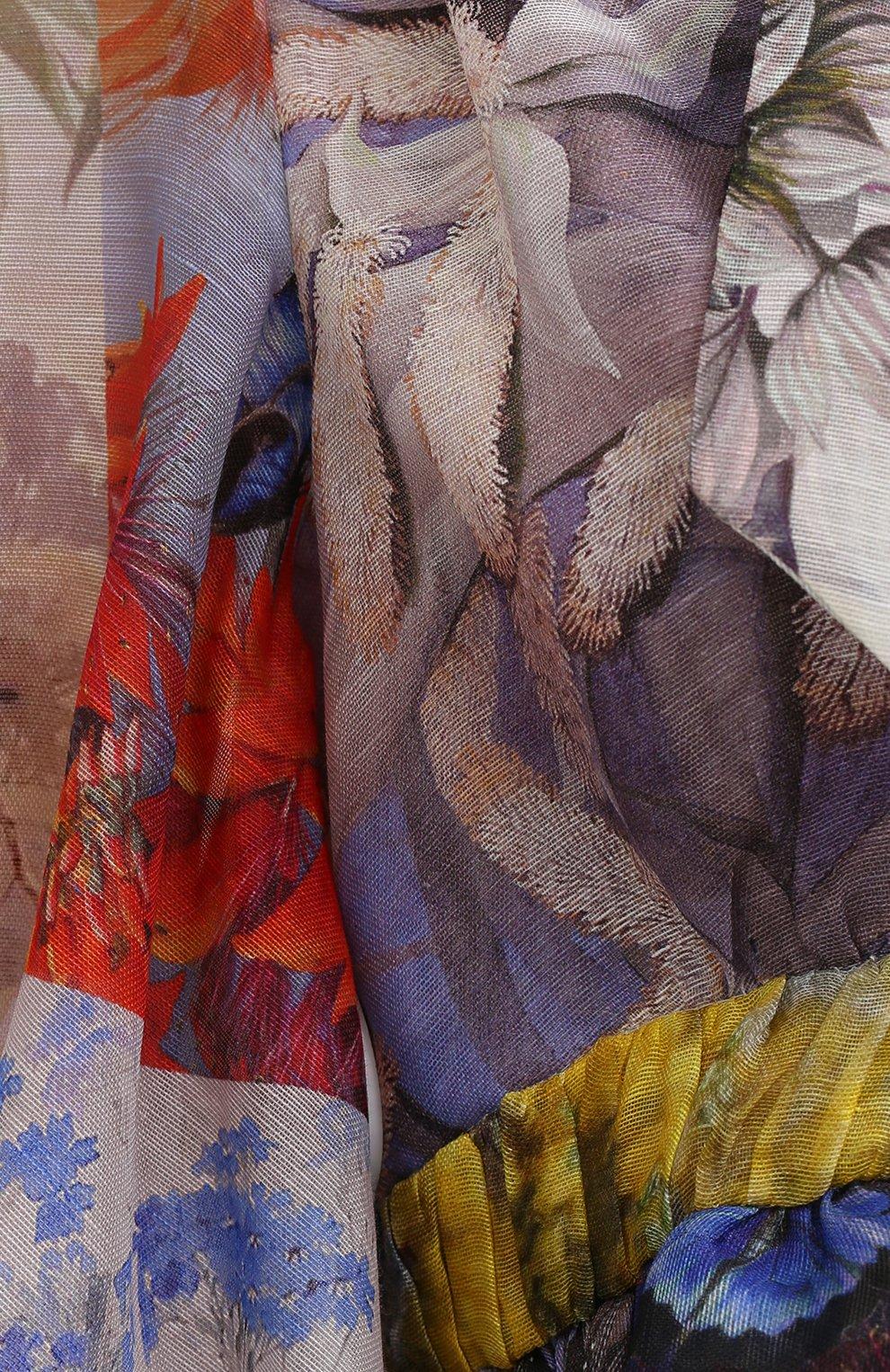 Женская льняная блузка ZIMMERMANN разноцветного цвета, арт. 1363TB0T | Фото 5
