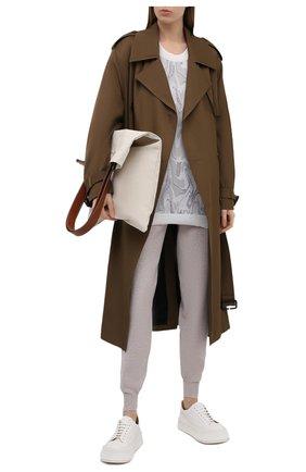 Женский пуловер Y`S серого цвета, арт. YD-K40-935 | Фото 2