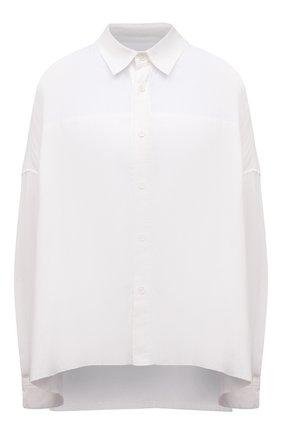 Женская хлопковая рубашка Y`S белого цвета, арт. YD-B80-003   Фото 1