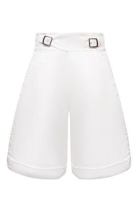 Женские хлопковые шорты DSQUARED2 белого цвета, арт. S72MU0394/S41794 | Фото 1