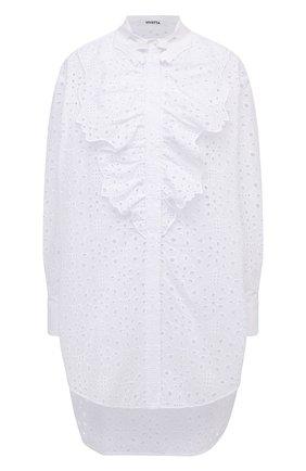 Женская блузка VIVETTA белого цвета, арт. 21E V2M0/G131/0082 | Фото 1