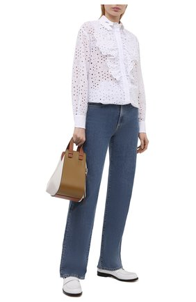 Женская блузка VIVETTA белого цвета, арт. 21E V2M0/G131/0082 | Фото 2