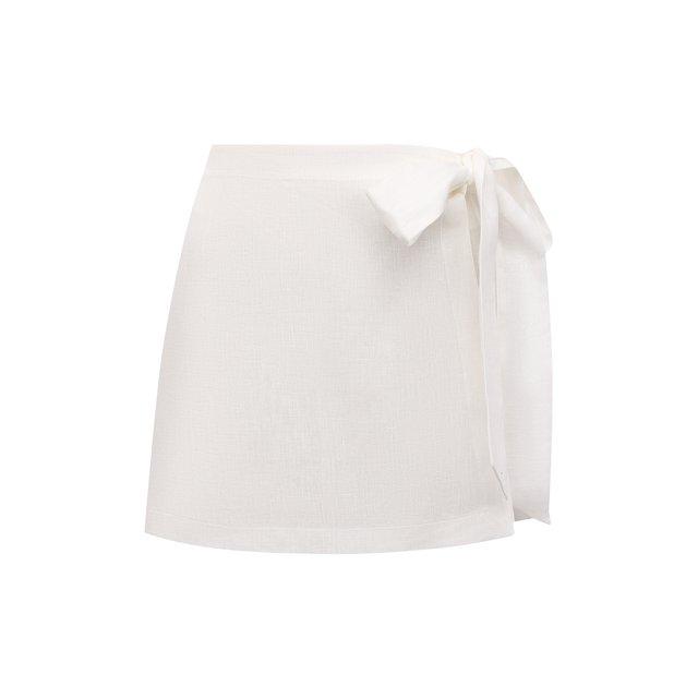 Льняная юбка-шорты Ermanno Scervino