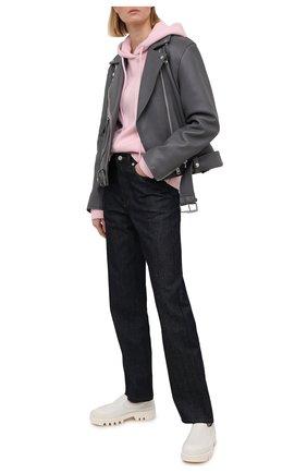 Женский кашемировое худи EXTREME CASHMERE светло-розового цвета, арт. 090/BE C00L | Фото 2