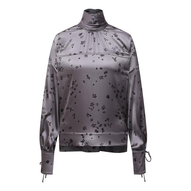 Шелковая блузка Ganni